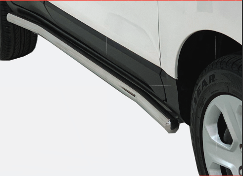 Ford EcoSport – 2016+  – Ford EcoSport Facelift Side Bars – Stainless