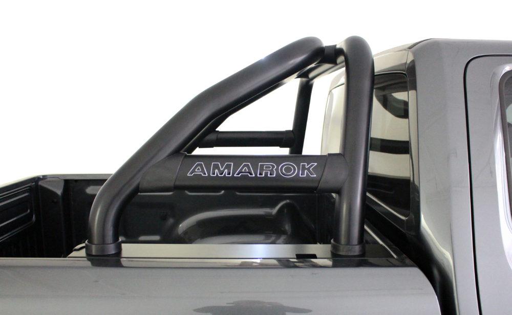 Vokswagen Amarok – 2017+  – VW Amarok Facelift Sports Bar – Black- Oval Range