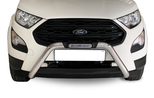 Ford EcoSport – 2018+  – Ford EcoSport Facelift Nudge Bar – Stainless