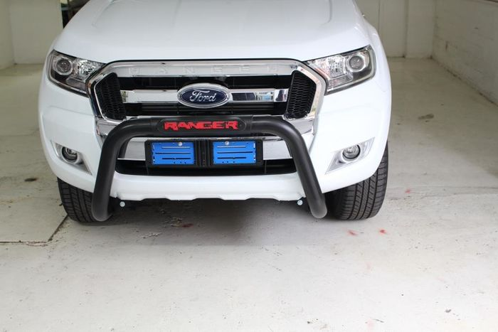 FORD Ranger – 2016+ – Ford Ranger T6 Facelift TILT PDC Nudge Bar – Black
