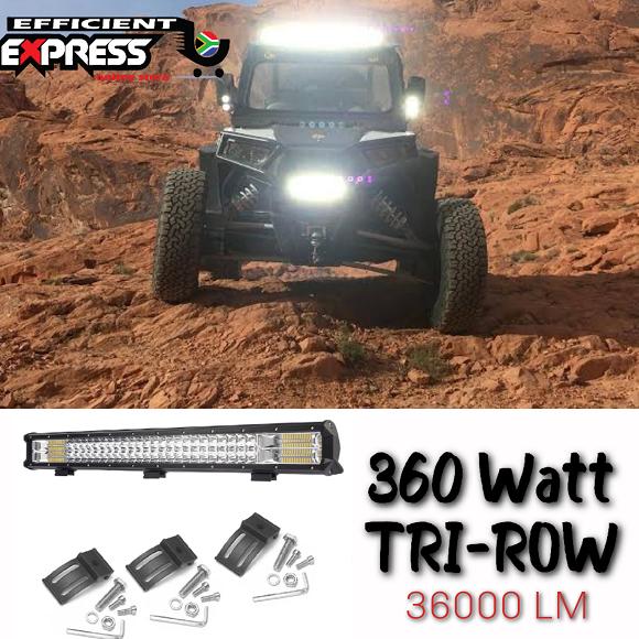 360 Watt X 660mm Tri Row Led Light Spot Lights Bar