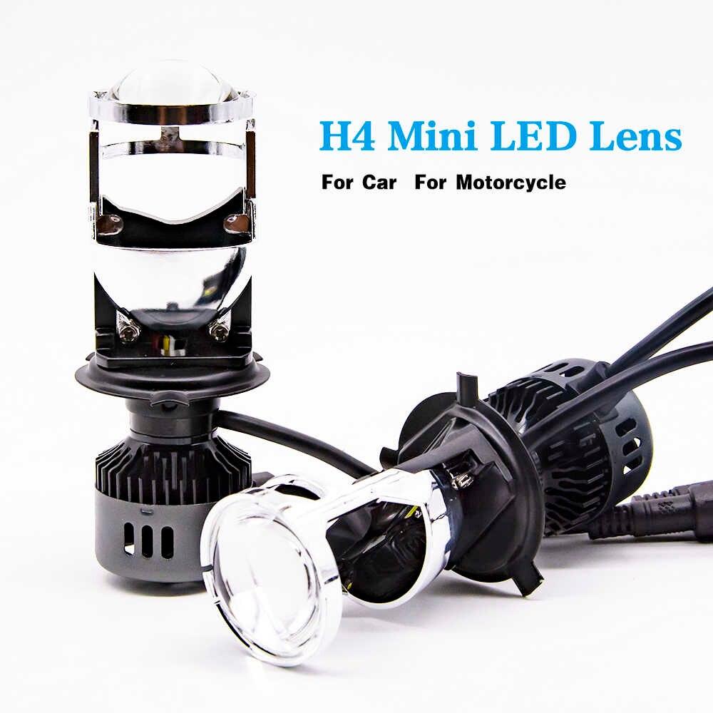H4 Auto LED Conversion Kit – Mini LED Lens V9