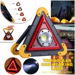 Multi-Function Work Light – Emergency Triangle – Select Color Below Yellow/Green/Silver Trim