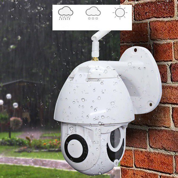 Bunker Wireless 5X Zoom HD 1080P Outdoor IP Camera Security