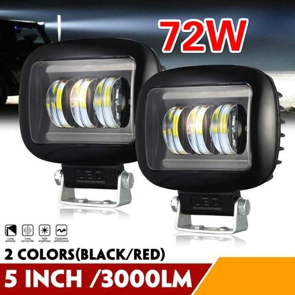 Led Spot Light / Led Light Bar 72W LED Work Light Spot Light Led Bar Off Road Lights Set Of 2