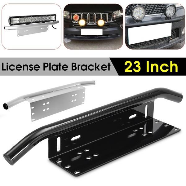 23inch Front Bumper License Plate Mount Bracket