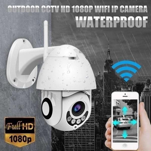 New IP Camera Onvif WiFi 2MP HD 1080P Wireless Speed Dome CCTV