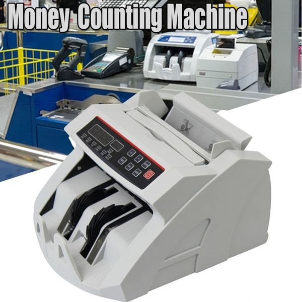 Bank Note Counter With Counterfeit Detection / Bill Counter