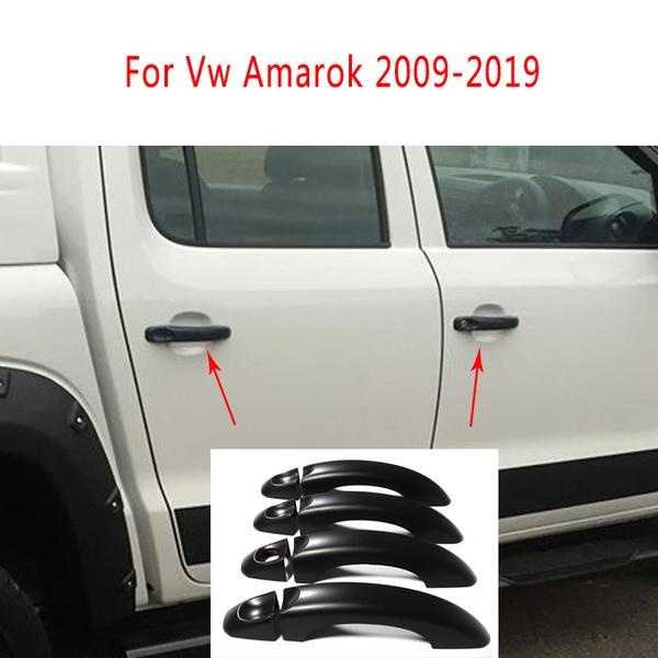 Black Door Handle Cover For Vw Amarok