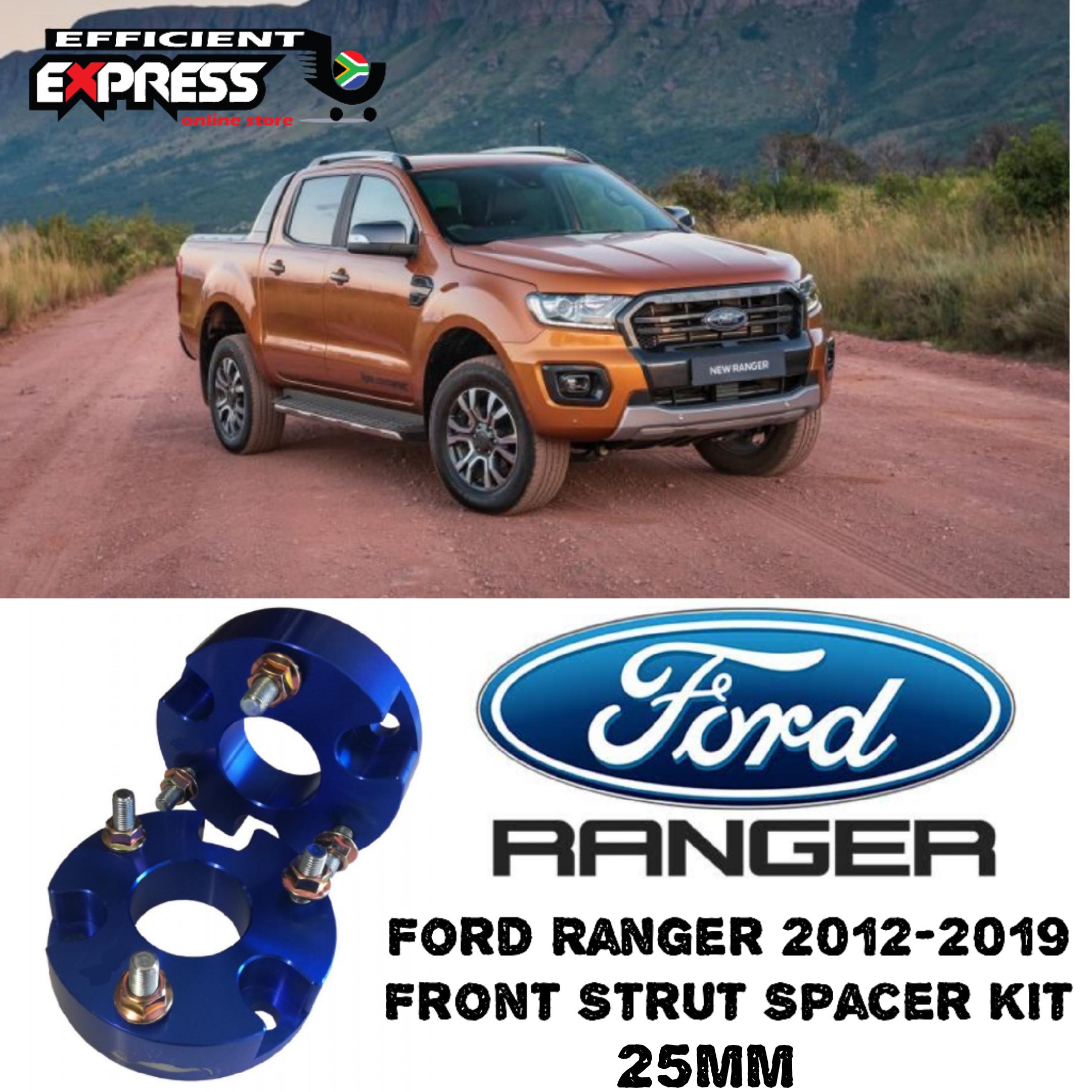 Ford Ranger 25mm Solid Billet Aluminum Leveling Kit 2012 To Current