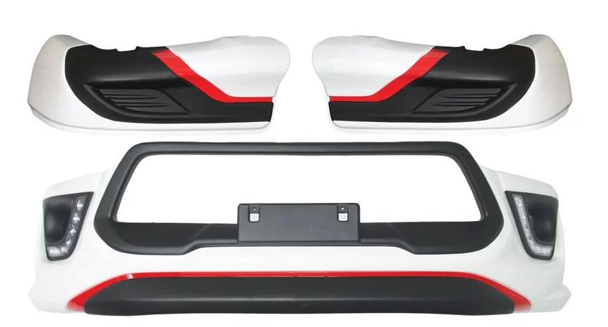 Front Bumper Cover Set Hilux 2015-