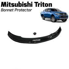 Mitusbishi Triton 2015 + Bonnet Protector Black