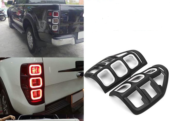 Ford Ranger T6/7 Tail Light Trim With LED 2012+