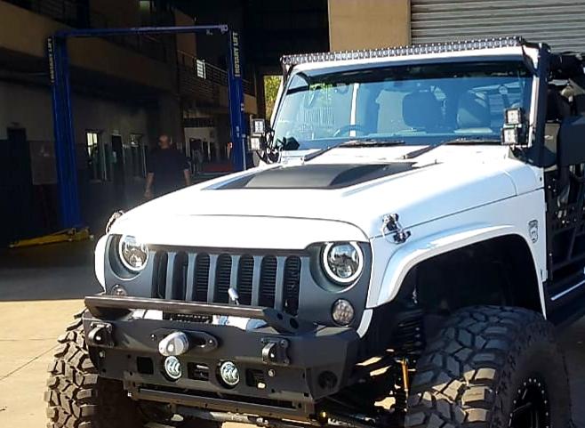 Jeep Wrangler 250Watt Led Light Bar 50Inch With Top A-Pillar Brackets Black COMBO