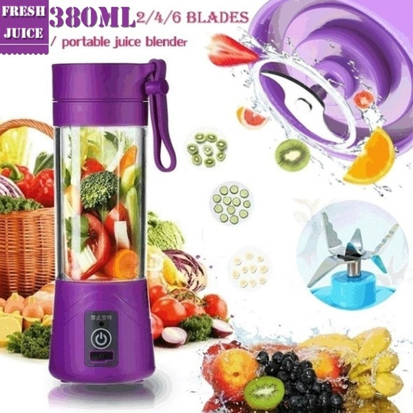 Portable Juice Blender – Rechargeable