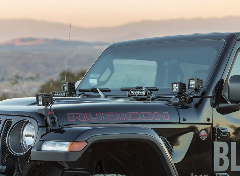 Hood LED Light Bar Kit For 2018-up Jeep Wrangler JL ...