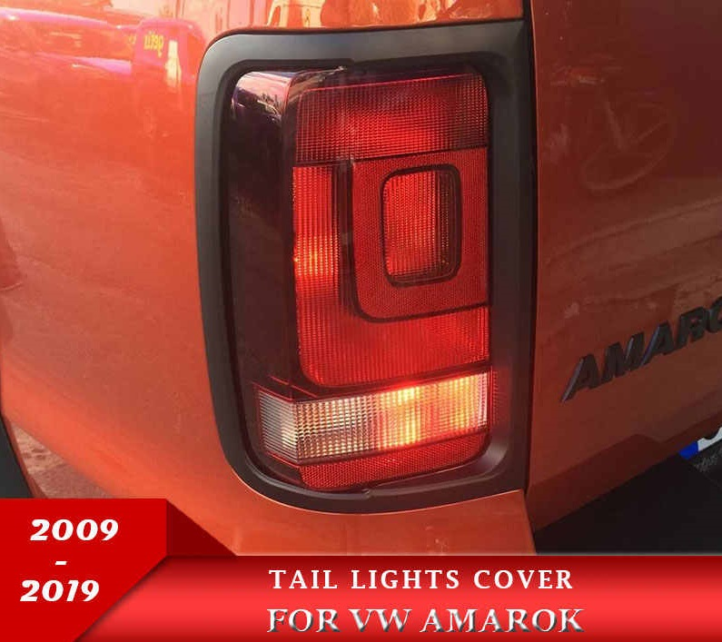 Tail Lights Surrounds Trim For Vw Amarok 2010 To 2018