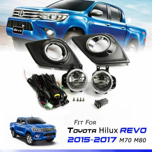 15-16 Toyota Hilux Revo Fog Lamp Light Spot Light Pickup Set Oem Bulbs