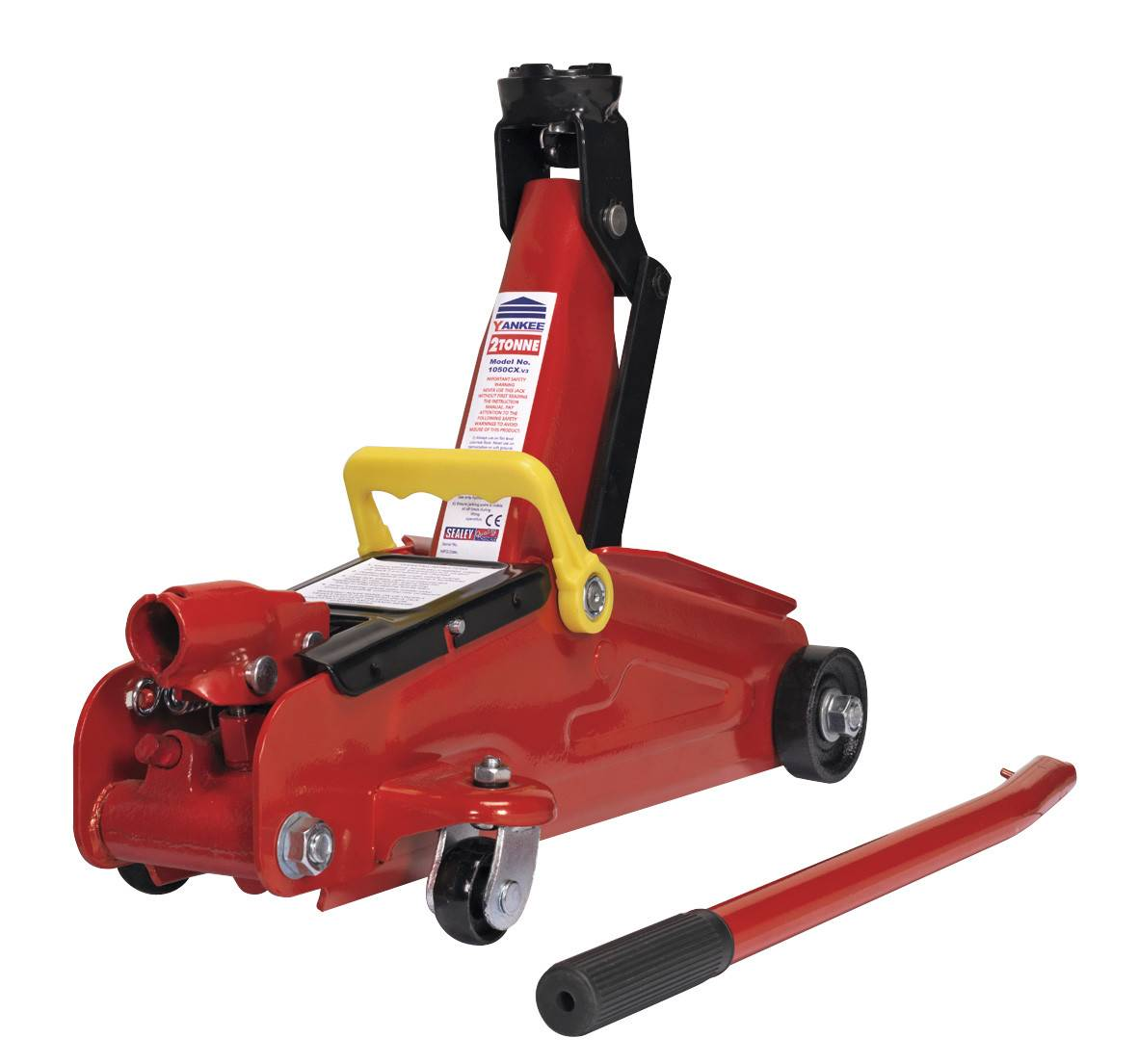 2 Ton Trolley Jack Hydraulic Garage Lift Jack With Carry Case