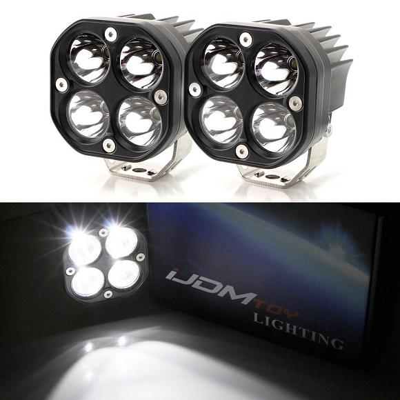 20W High Power LED Pod Set Of 2