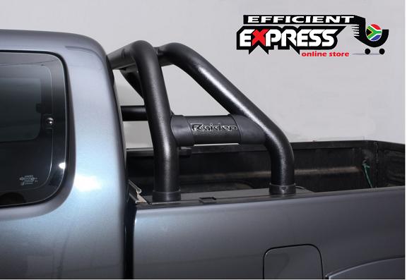 Toyota Hilux REVO Sports Bar Single Cab Black 2016+ (Fits Revo And New Facelift)