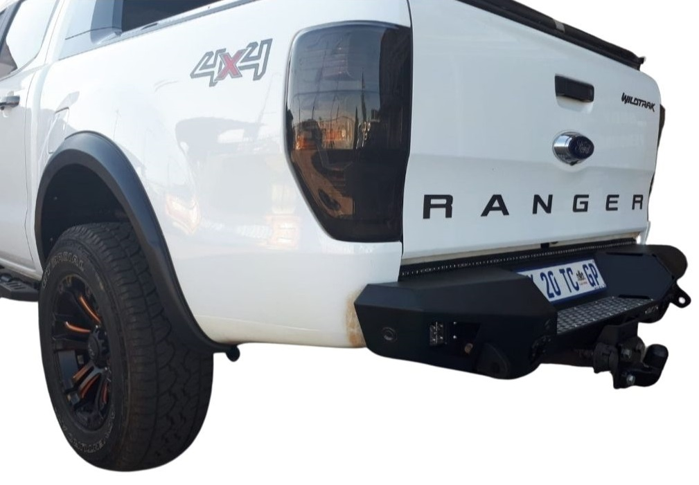 Ford Ranger T6/T7 Replacement Bumper Steel And Tow Bar (Courier Not Included, Please Request Separate Quote)