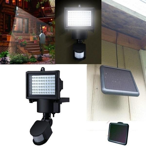 Outdoor 16Watt PIR Body Motion Sensor Solar Floodlights Spotlights Solar Lamp