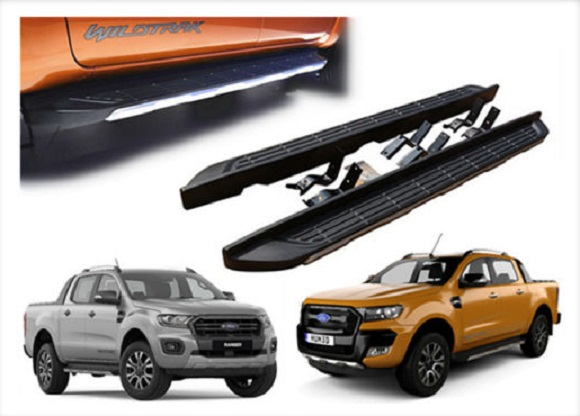 FORD RANGER T6 And T7 2012 – 2017 ON WARDS OE STYLE RUNNING BOARDS – SIDE STEPS – PAIR