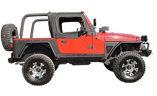 Jeep Wrangler TJ Corner Guard