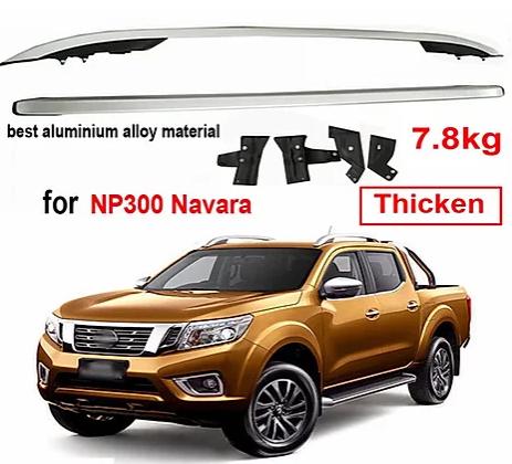 Nissan Navara Screw-on Roof Racks – Aluminum