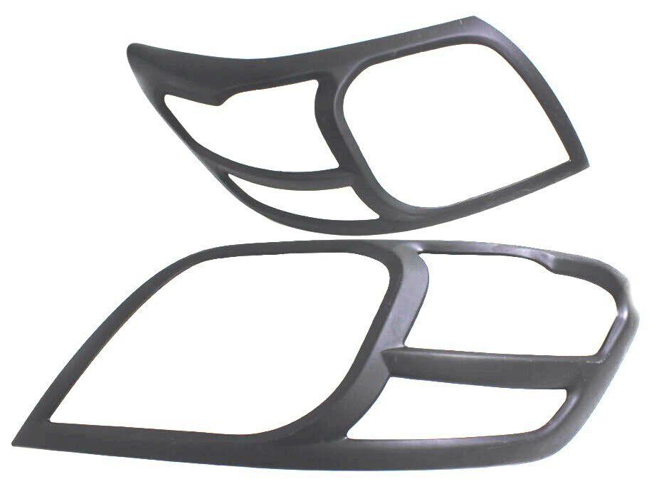Head Lamp Trim For Toyota Hilux 2012-2015 – Matte Black