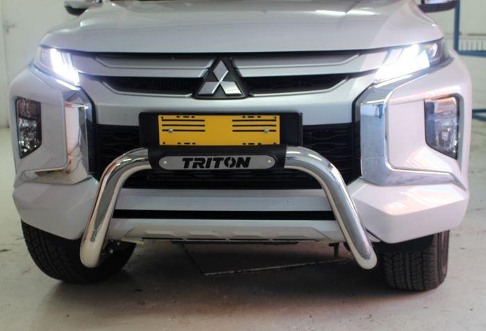 Mitsubishi Triton L200 Facelift 2019+ Nudge Bar
