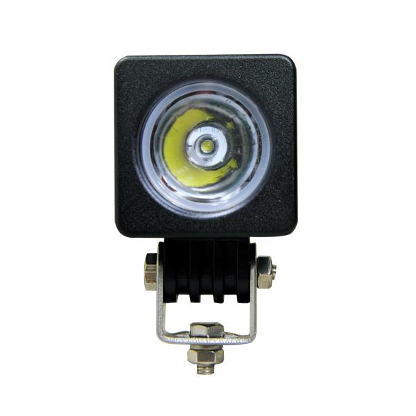Square LED Work Light – 50mm 10 Watt SET OF 2