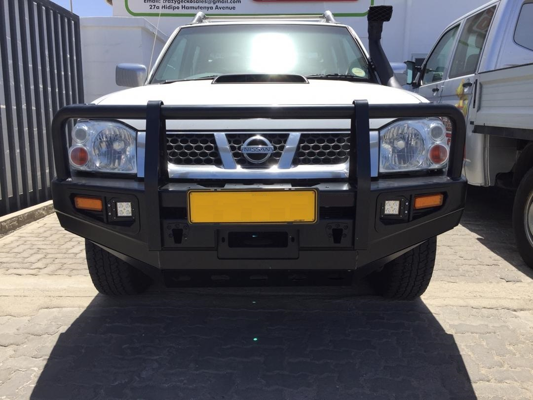 NISSAN HARD BODY NP300 2001 ONWARDS REPLACEMENT BUMPER