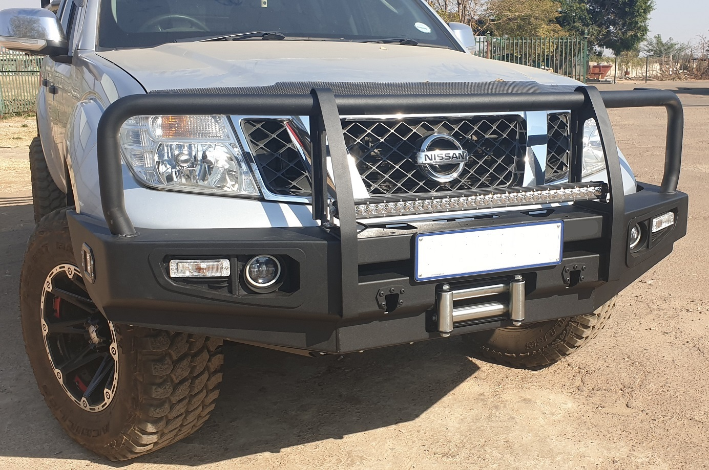 Nissan Navara D40 – Spec 2005 – 2017 Steel Replacement Bumper (Courier Not Included, Please Request Separate Quote)