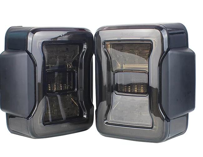 Jeep Wrangler LT11 JL Style Tail Lights Smoke Lens European Version For JK/JKU