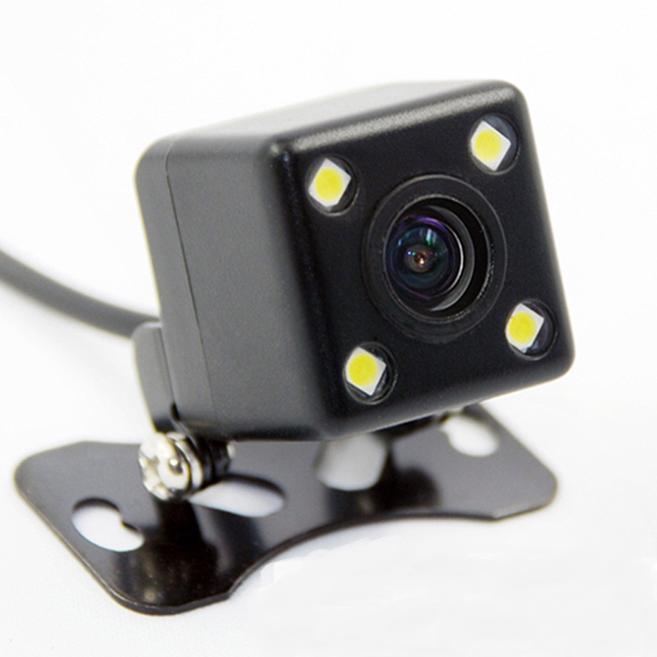 Universal Vehicle Rear View Camera With LEDs