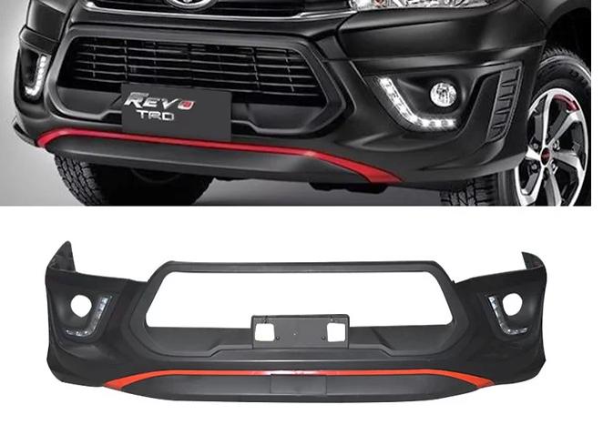 Hilux Revo TRD Style Front Bumper & Rear Bumper Corner