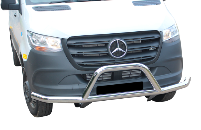 Mercedes Sprinter Front Styling Bar Stainless 2019>
