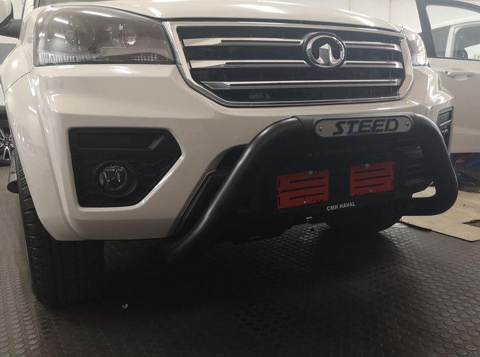 GWM Steed 5 Nudge Bar Black (Fits 2l VGT 4×2 SX & VGT 4×4 SX) 2019>