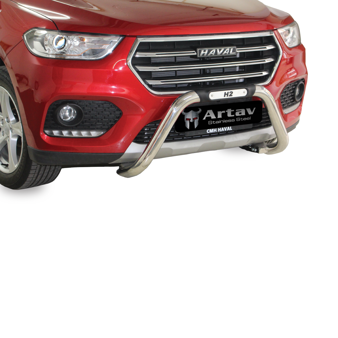 Haval H2 Facelift Nudge Bar Stainless 2020+