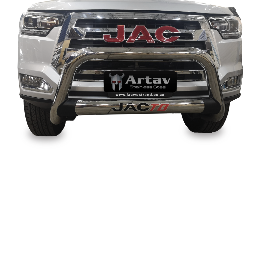 JAC T8 Nudge Bar Stainless 2020+ N/S