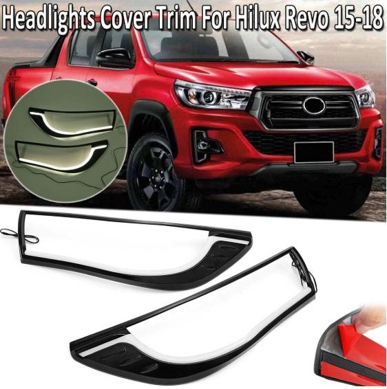 Headlight Trim For Toyota Hilux REVO LED NS