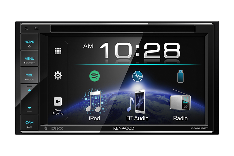 """AV RECEIVER WITH 6.2"""" WVGA CLEAR-COATED RESISTIVE DISPLAY – UNIVERSAL UNIT"""