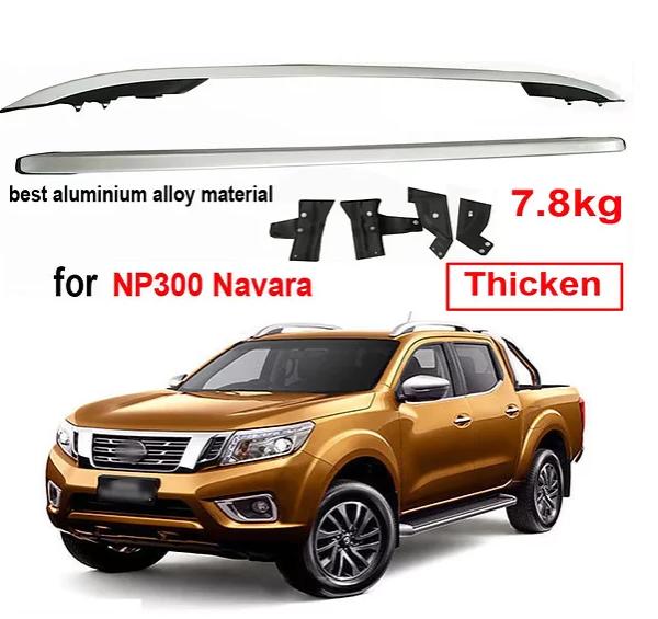 Nissan Navara Screw-on Roof Racks – Aluminium AL