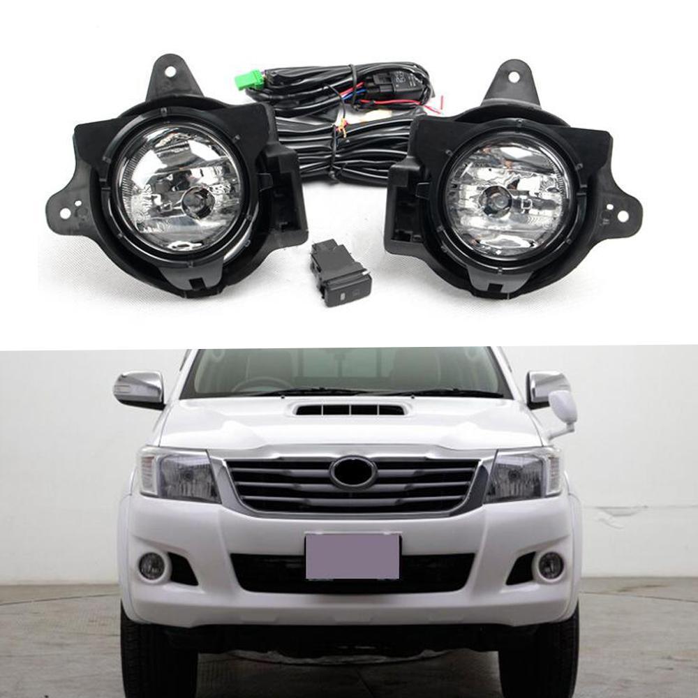 Fog Light Assembly Kit For Toyota Hilux VIGO 2012-2016 NS
