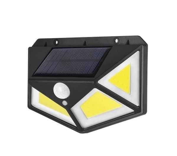 FOYU 122 COB LED Solar Wall Light