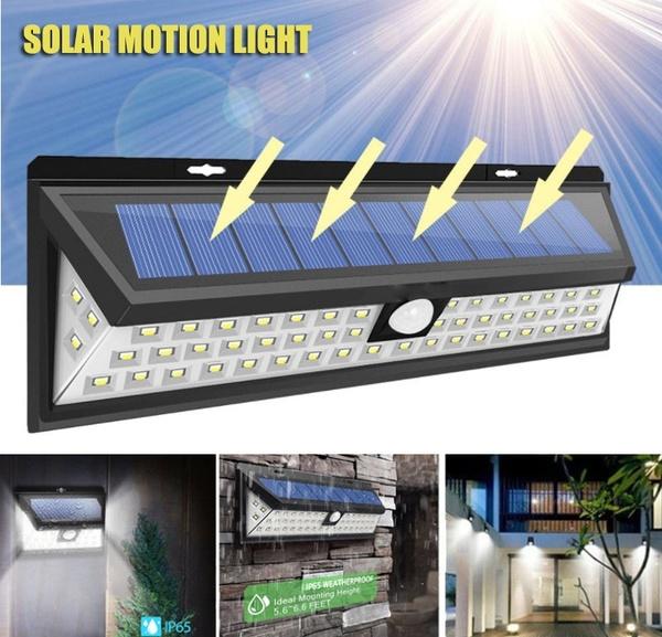 LED Solar Motion Sensor Lights