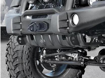 Jeep Wrangler AEV Front Bumper Skid Plate