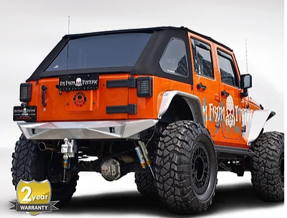JBP030 – JK Steel Fury Series Rear Bumper